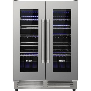Thor 42 Bottle Dual Zone Built-in Wine Cooler