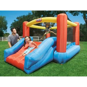 Little Tikes Jr. Jump N Slide Inflatable Bounce House Retail: $279.99