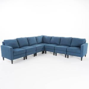 Zahra Modern 8-piece Fabric Sofa Sectional by Christopher Knight Home - Retail:$1399.99