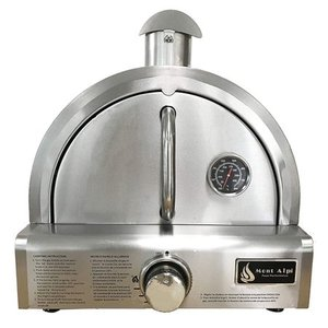 Mont Alpi Silver Stainless Steel Portable Pizza Oven- Retail:$296.99