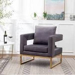 Lenola Contemporary Upholstered Accent Arm Chair- Retail:$254.99